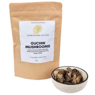 Guchhi mushrooms