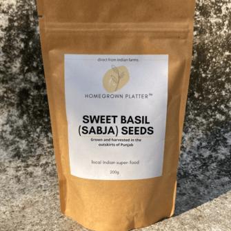 Sweet basil seeds